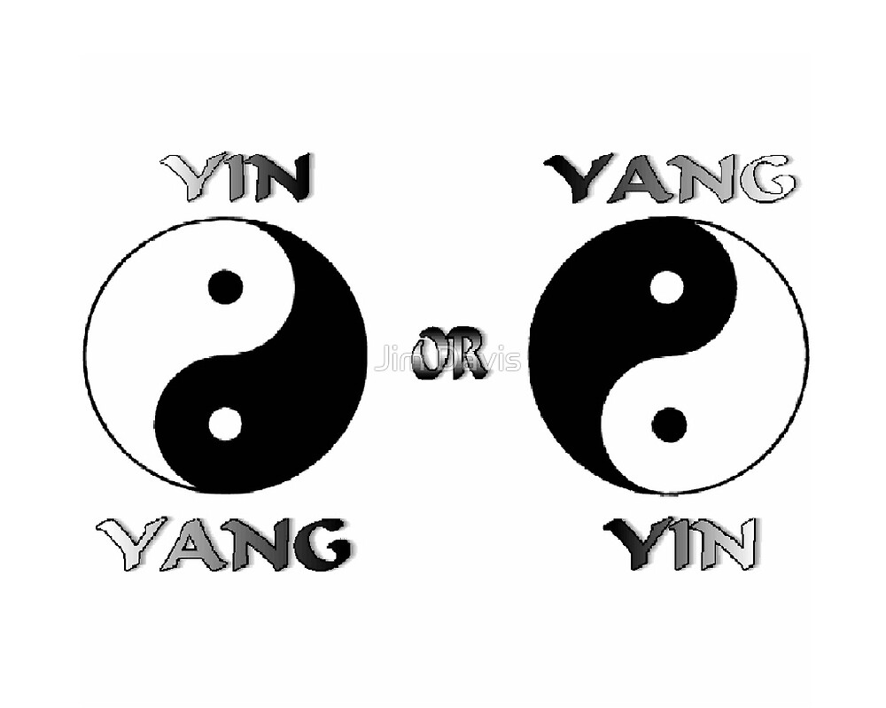Yin Yang by Jim Davis