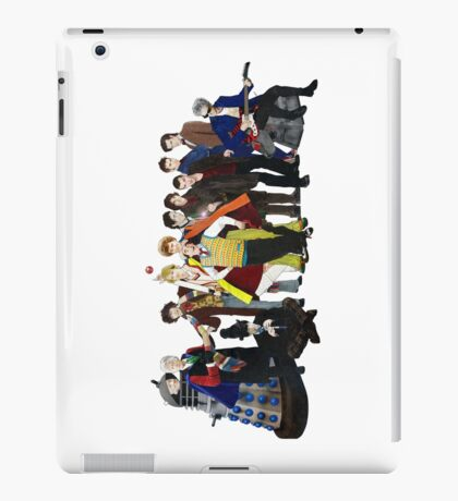Doctor Who - The 13 Doctors II (lineup) iPad Case/Skin