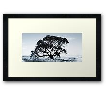 Wide Screen Love Framed Print