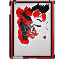 Funky Geisha Girl iPad Case/Skin