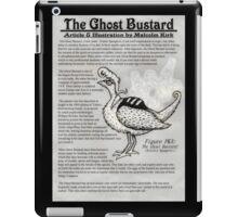 The Ghost Bustard iPad Case/Skin