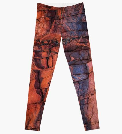Mt Gillen at dawn (Ancient lines) Leggings