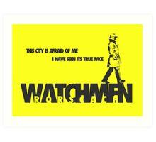 Watchmen - Rorscach Art Print