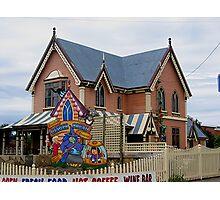 Gingerbread House, Tasmania Photographic Print
