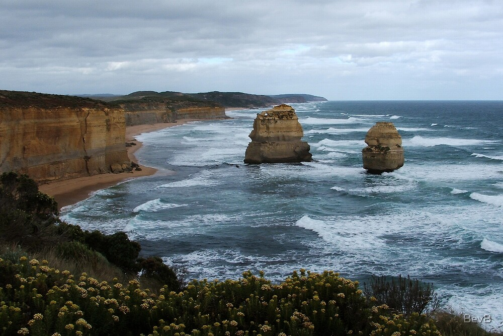 Port Campbell National Park - Gibson Beach by BevB
