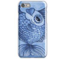 blue Modesty iPhone Case/Skin