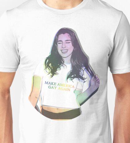 Lauren Jauregui - Make America Gay Again - LGBT FUCK TRUMP Unisex T-Shirt