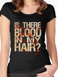 Vampire Grooming Issues Women's Fitted Scoop T-Shirt