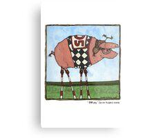 Stilt pig Metal Print