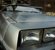 DeLorean in Japan by asensio