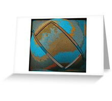 Abstract Rectangle Two Greeting Card