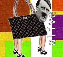 Hitler Handbag by Nicole Wiedig