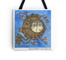Submarine kitties II Tote Bag