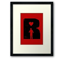 Dead Romantic Framed Print