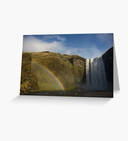 Skógarfoss Greeting Card