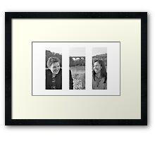 Charlie and Verena Framed Print