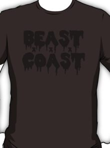 Beast Coast - Black T-Shirt