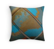 Abstract Rectangle Two Throw Pillow