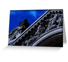 """""""cathedral 0.3"""" Greeting Card"""