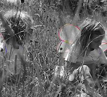 Fairies in the Grass by Apple Tree Photography