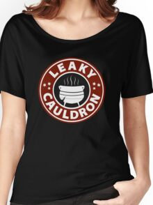 Leaky Cauldron (Red) Women's Relaxed Fit T-Shirt