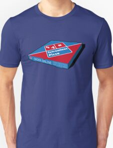 Tetrominos Pizza Box T-Shirt