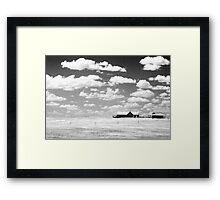 Prairie Home Framed Print