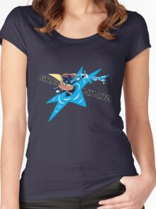 Greninja Women's Fitted Scoop T-Shirt