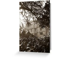 Dillington House, Somerset Greeting Card
