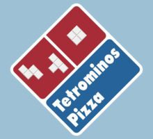 Tetrominos Pizza Kids Clothes