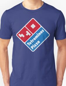 Tetrominos Pizza T-Shirt