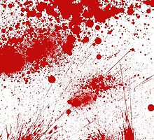 Blood Splatter by 4getsundaydrvs