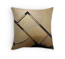 Abstract Rectangle Three Throw Pillow