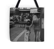 Mother and Daughter at Rue. St. Benoit Tote Bag