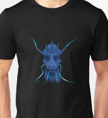 Azur dragon blue painting Unisex T-Shirt