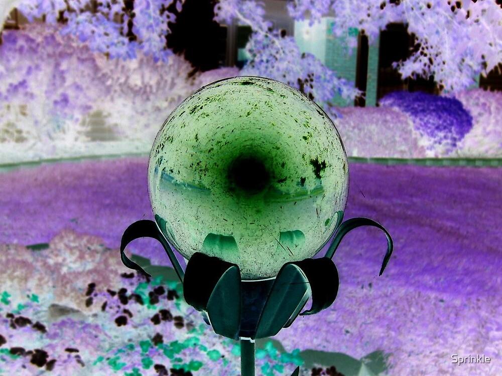 Inverted Globe by Sprinkle