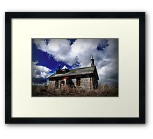 Home in the Summer Framed Print