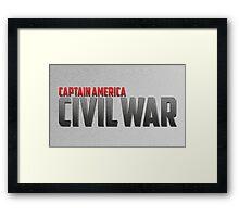 Civil War Framed Print