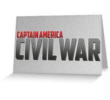 Captain America-Civil War Greeting Card