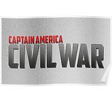Captain America-Civil War Poster