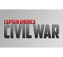 Captain America-Civil War Photographic Print
