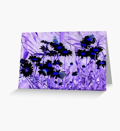 Butterflies Inverted Greeting Card