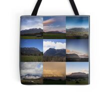 Mount Roland Montage Tote Bag