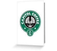 Capitol Coffee Greeting Card