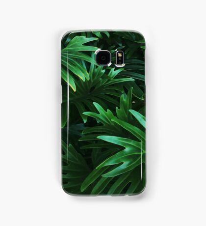 Jungle Leaves Samsung Galaxy Case/Skin