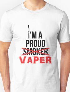 I'm a Proud Vaper (Ex-Smoker) Unisex T-Shirt