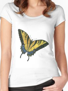 Monarch Butterfly Women's Fitted Scoop T-Shirt