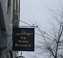 Travel Bookshop sign by bethross