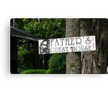 Father's Guesthouse Canvas Print