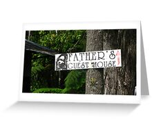 Father's Guesthouse Greeting Card